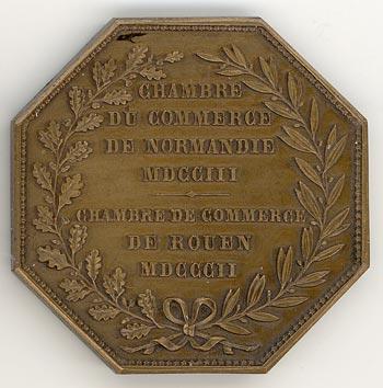 M daille de la chambre de commerce - Chambre de commerce normandie ...