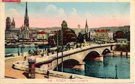 Pont de pierre for Piscine ile lacroix rouen